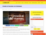 Power bi training in hyderabad