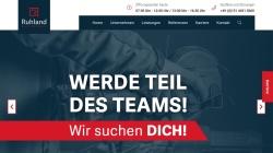 www.ruhland-gmbh.de Vorschau, Ruhland GmbH