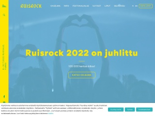 Screenshot for ruisrock.fi