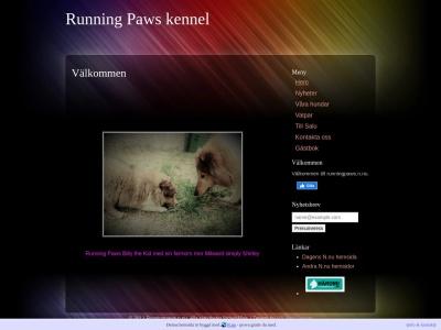 www.runningpaws.n.nu