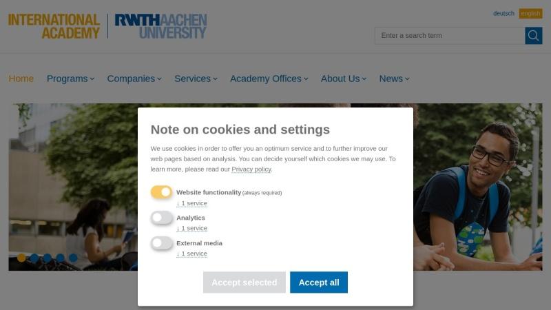 www.rwth-international-academy.com Vorschau, Executive MBA der RWTH Aachen University