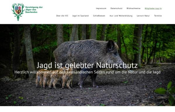 Vorschau von www.saarjaeger.de, VJS Vereinigung der Jäger