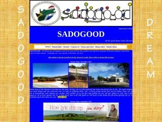 Screenshot for sadogood.co.za