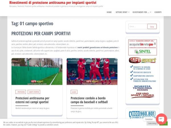 prodotti di protezioni sportive e pavimenti sportivi per ogni settore come impianti sportivi, palestre, tensostrutture, campi sportivi, campi tennis, palazzetti dello sport.