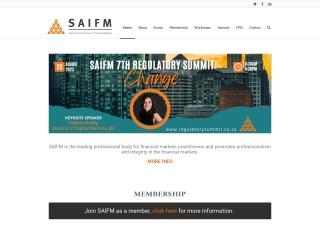 Screenshot for saifm.co.za