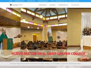 Captura de pantalla para saintgasparcollege.cl