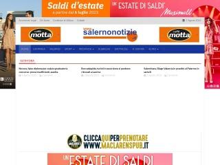 screenshot salernonotizie.it