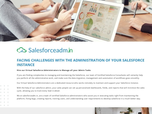 Hire our Virtual Salesforce Administrators to Manage all your Admin Tasks