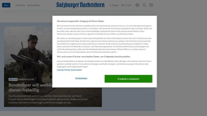 www.salzburg.com Vorschau, Salzburg.com