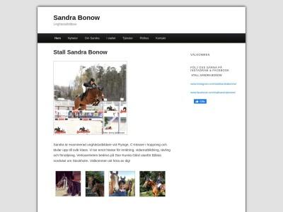 www.sandrabonow.se