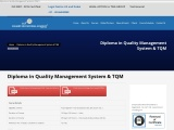 Quality Management Course in india