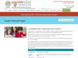 Preschool teacher training course in hyderabad
