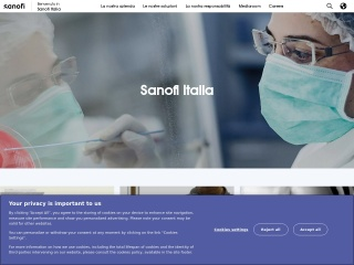 screenshot sanofi-aventis.it