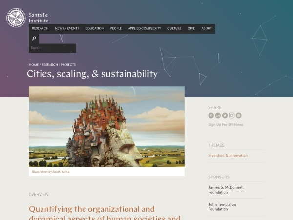 http://www.santafe.edu/research/cities-scaling-and-sustainability/