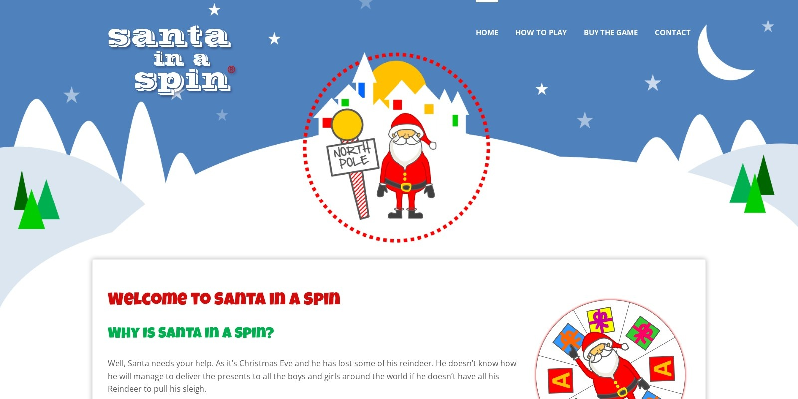 Preview of http://www.santainaspin.com