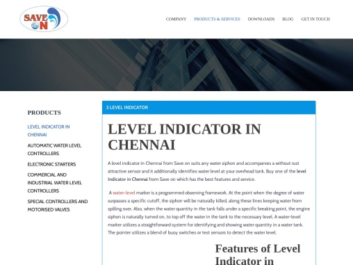 Level Indicator in Chennai -SaveOn