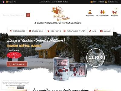 SaveursCanada.com : épicerie fine Canadienne