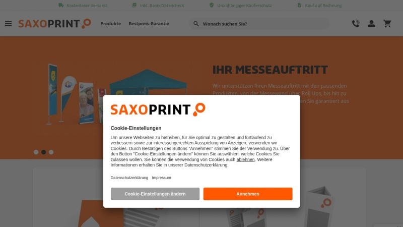 www.saxoprint.de Vorschau, Saxoprint GmbH