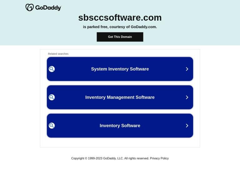 Sbsccsoftware screenshot
