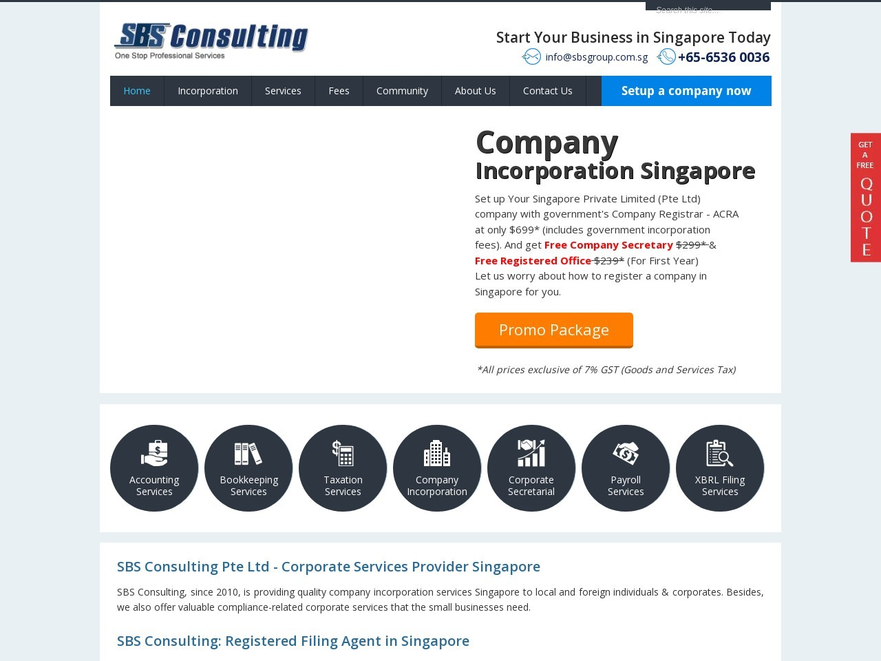 To Form A Private Limited Company In Singapore With The Help Of SBS Consulting
