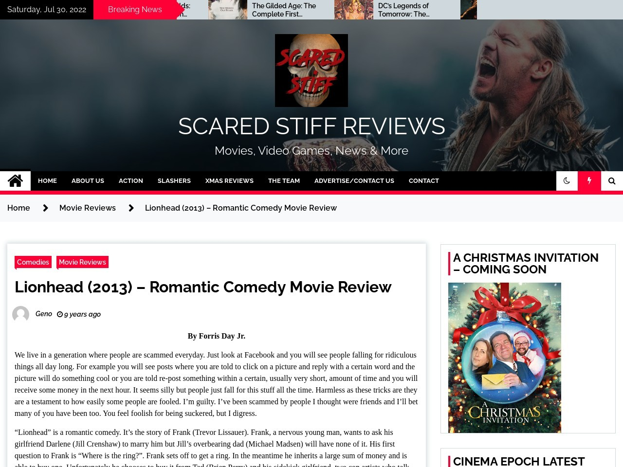 Lionhead (2013) – Romantic Comedy Movie Review – Scared Stiff …