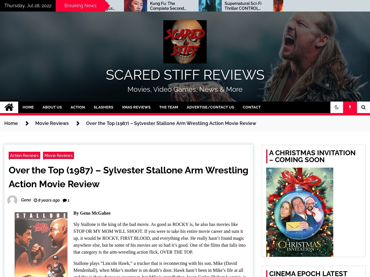 Scared Stiff Reviews » Over the Top (1987) – Sylvester Stallone Arm …