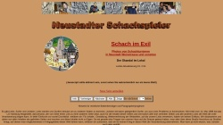 www.schachkosmos.de Vorschau, Schach in Neustadt