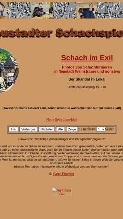Vorschau der mobilen Webseite www.schachkosmos.de, Schach in Neustadt