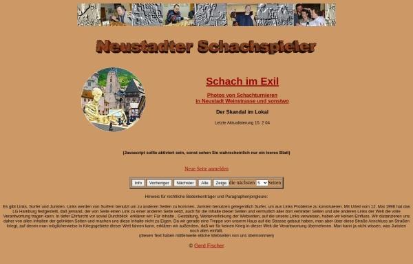 Vorschau von www.schachkosmos.de, Schach in Neustadt