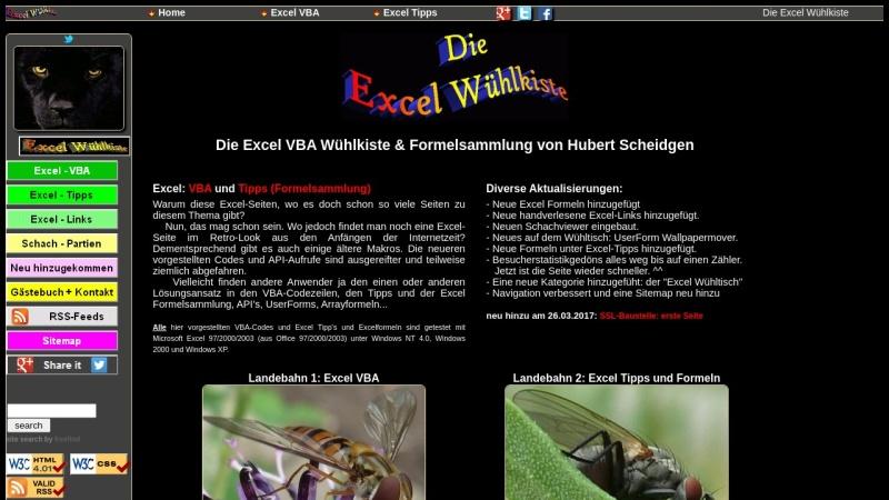 www.scheidgen.de Vorschau, Excel Tuning by Hubert Scheidgen