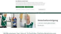 www.scheitzke.com Vorschau, Gebäudereinigung Horst Scheitzke