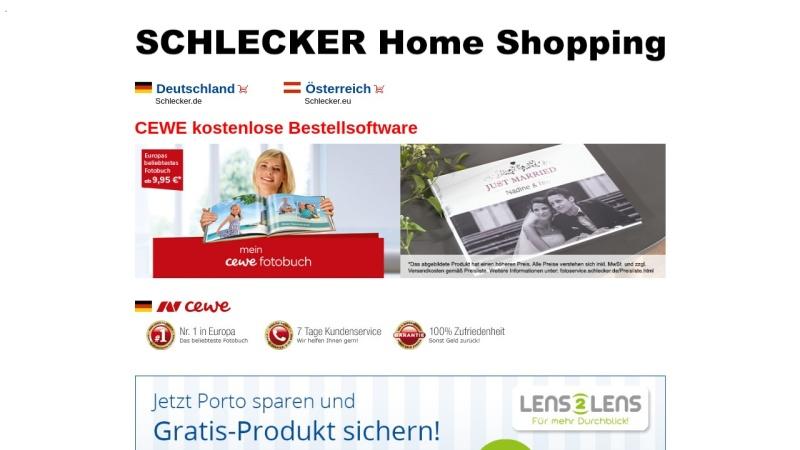 www.schlecker.com Vorschau, Schlecker Home Shopping