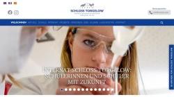 www.schlosstorgelow.de Vorschau, Internat Schloss Torgelow