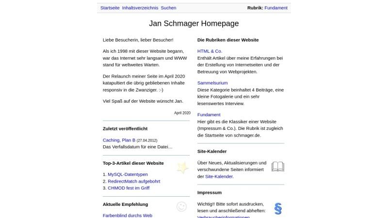 www.schmager.de Vorschau, Schmager.de