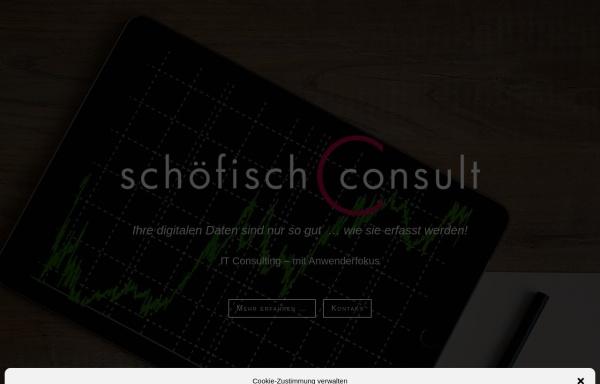Vorschau von www.schoefisch-consult.de, Schöfisch Consult - Dipl.-Ing. Frank Schöfisch