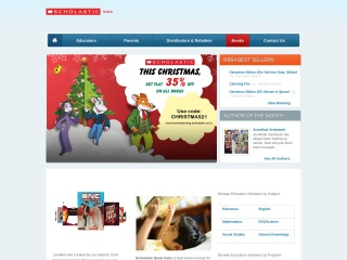 Screenshot for scholastic.co.in