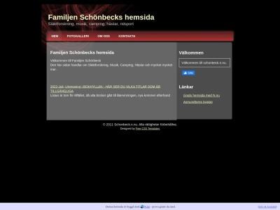 www.schonbeck.n.nu