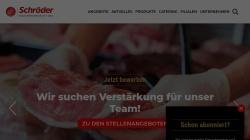 www.schroeder-fleischwaren.de Vorschau, Schröder Fleischwarenfabrik GmbH & Co. KG