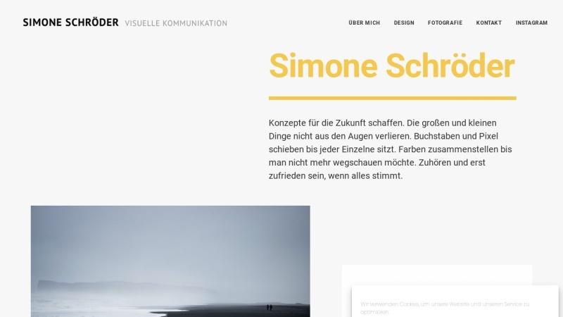 www.schroederdesign.com Vorschau, Simone Schröder Kommunikations Design