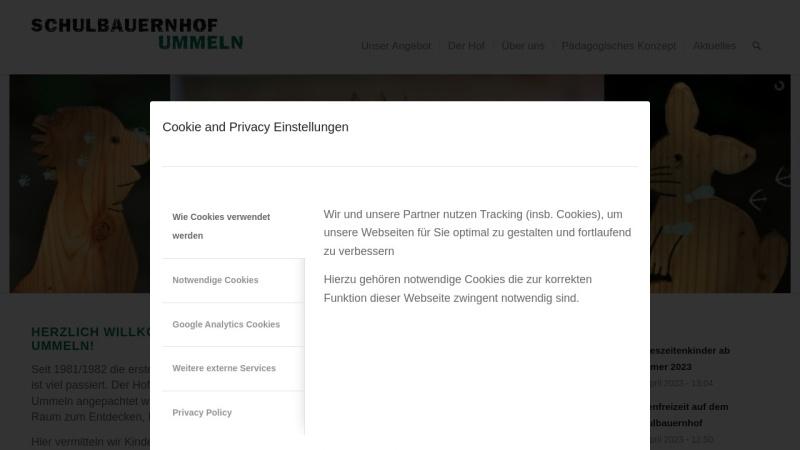 www.schulbauernhof-ummeln.de Vorschau, Schulbauernhof Ummeln