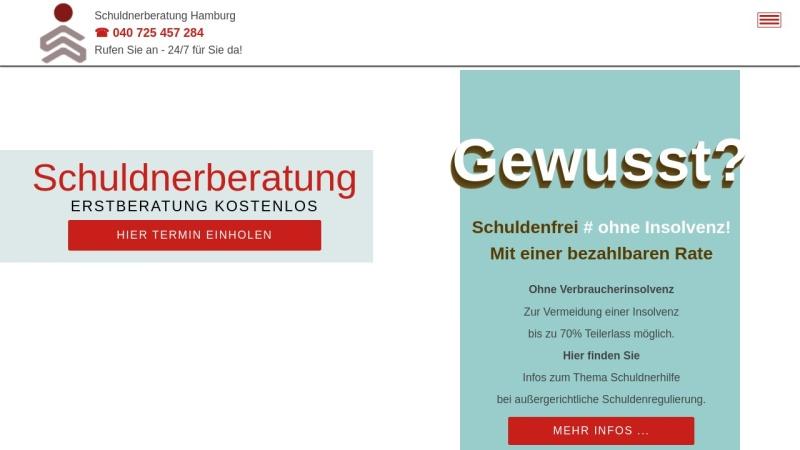 www.schuldnerberatunghamburg.com Vorschau, ADN Schuldner- und Insolvenzberatung gGmbH