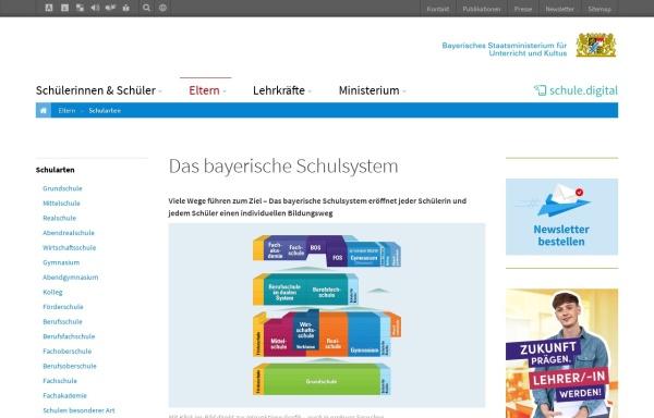 Vorschau von www.schule.bayern.de, Bayerischer Schulserver