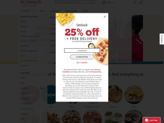 Screenshot for schwans.com