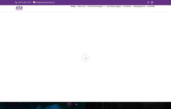 Vorschau von www.schweisstech.ch, Schweisstechnische Ausbildung Georg Marbet