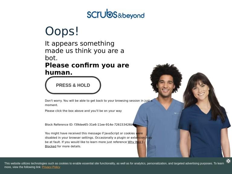 Scrubs And Beyond Coupon Codes screenshot