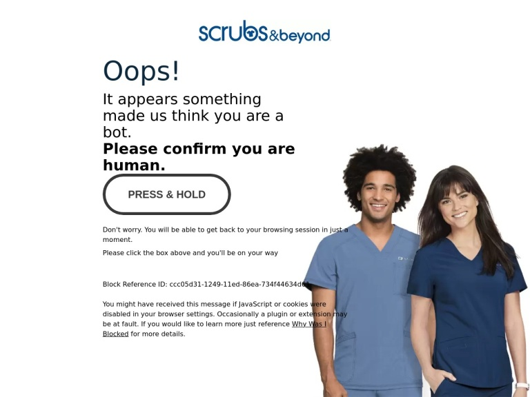 Scrubs & Beyond screenshot