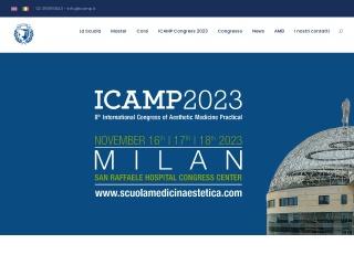 screenshot scuolamedicinaestetica.com