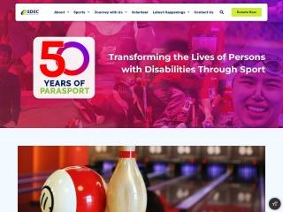 Screenshot for sdsc.org.sg
