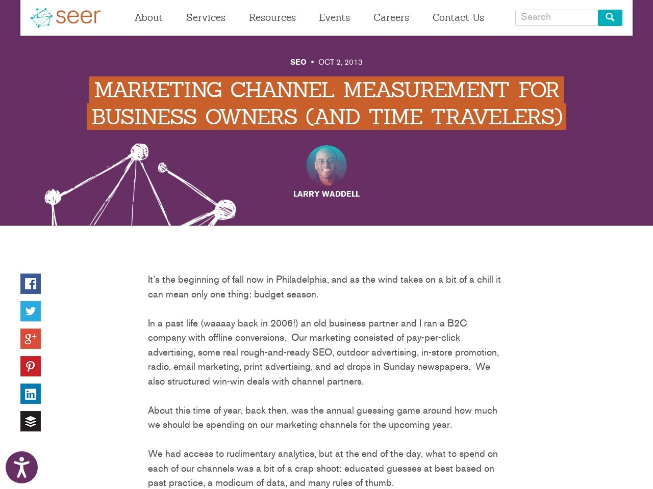 Marketing Channel Measurement for Business Owners (and Time …