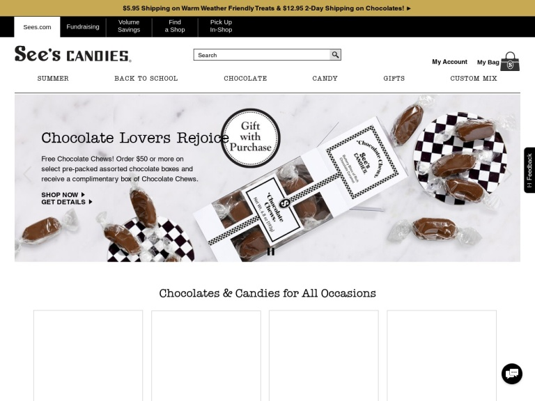 See's Candies, Inc. Coupon Codes